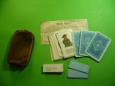 308KC1 20er 30er Jahre Spiel, Kartenspiel Was tun ? J.W. Spear & Söhne Nürnberg