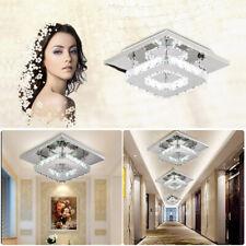 Luxus LED Decken Lampe Kristall Leuchte Wohn Zimmer Flur Beleuchtung 12W