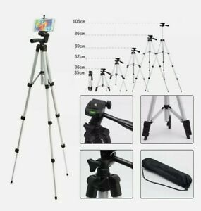 Professional Camera Tripod Stand Holder Mount for iPhone Samsung Cell Phone DSLR