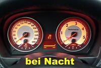 "BMW DIESEL e90 e91 e92 e93 Tachoscheiben Aufkleber Design ""WEISS""          01-92"