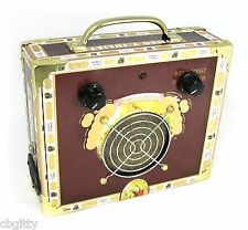 "Portable Cigar Box Guitar Amplifier - ""Romeo and Julietta"" - Made in the USA!"