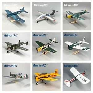MinimumRC Micro RC Indoor/Backyard Model Airplane Kits & RX, ESC, Servo UK Stock