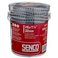 """Senco 06A125p Duraspin Number 6 By 1-1/4"""" Drywall To Wood Collated Screw (1 000"""