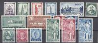 Franz. Zone Baden, ** Posten aus 1949 (29319)