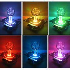 Colorfurl LED Illuminated Arcade Joystick Switchable 4-8 Way Operation + 2P Wire