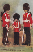 Grenadiers Gurads, Privates & Boy, (Review Order) , 00-10s ; TUCK