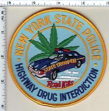 New York State Police Highway Drug Interdiction Shoulder Patch