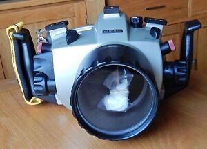 SUBAL UNDERWATER CAMERA HOUSING FOR NIKON F80 FILM CAMERA.