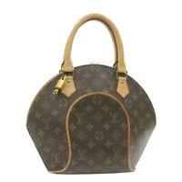LOUIS VUITTON Monogram Ellipse PM Hand Bag M51127 LV Auth 21306