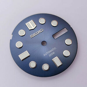 MM300 Dial for Seiko SKX013, MARINEMASTER 300, Navy Blue, fits NH36, C3Lume