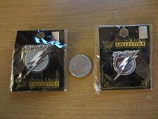 2 Different Tampa Bay Lightning  ''Flash Logo''  NHL Hockey Pins- NIP -WinCraft
