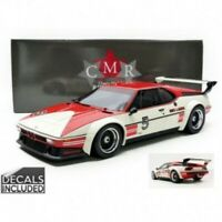 CMR 12004 BMW M1 PROCAR resin model Niki Lauda Winner Procar series 1979 1:12th
