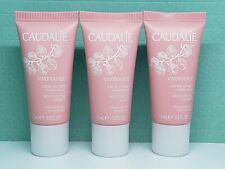 Lot of 3 CAUDALIE Vinosource Moisturizing Sorbet -Travel Size (0.33oz/10mL each)