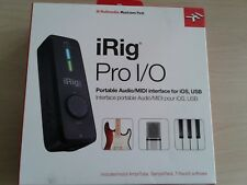 IK Multimedia iRig Pro I/O Audio and MIDI Interface for Mac, Windows & iOS, USB