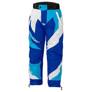 Castle X Boys Fuel SE G5 Blue/White Insulated Snowmobile Pants 73-692X