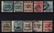 P131877/ CEYLON STAMPS / BRITISH COLONY / LOT 1885 USED - CV 285 $