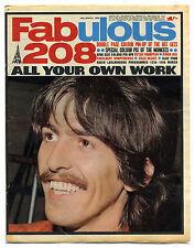 FABULOUS 208 16/3/1968 Bee Gees Simon Dee Peter Frampton Cilla George Harrison