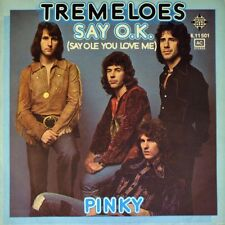 "7"" THE TREMELOES Say O.K. (Say Ole You Love Me) / Pinky TELEFUNKEN orig. 1974"