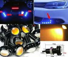 Amber 10x 5W COB LED Lamp DRL Puddle light Under Car Bumper projector MSS J