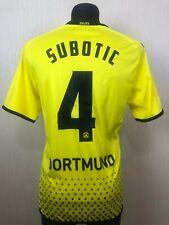 BORUSSIA DORTMUND 2011/2012 SUBOTIC HOME Fußball SOCCER TRIKOT JERSEY KAPPA