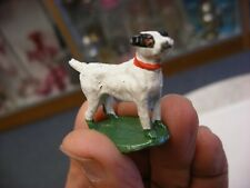 Vintage Lead Toy Jack Russell Terrier Dog Figurine