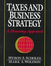 Taxes and Business Strategy: A Global Planning Approach