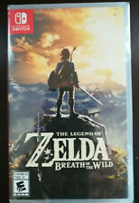 Legend of Zelda: Breath of the Wild (Nintendo Switch, 2017) New Sealed Game
