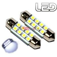 Ampoule 36-mm 8 led navette 12V (2pcs) voiture intérieur exterieur  plancher Cof