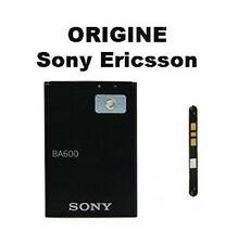 BATTERIE ORIGINALE ★★ BA600 ★★ SONY ERICSSON XPERIA U ST25i  ★★ ORIGINE NEUF