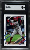 2021 Topps Series 1 Jo Adell #43 RC SGC Mint 9 Rookie Los Angeles Angels