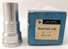 """Bell & Howell Projection Lens Increlite 5.8"""" f/2.1 16mm  B&H # 200009 w Box"""