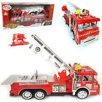 Toys for Kids Fire Engine Truck Toy With Light Sound Fire safety Cars Gift UK