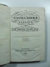 Pasquale Villani, Ciccio il diavolo. Romanzo, 1857