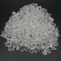 1/2lb Natural MINI White Quartz Crystal Tumbled Bulk Stone HEALING REIKI