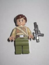 Lego Minifigure Female Resistance Solider w/ Blaster  Star Wars 75103