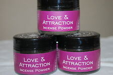 Love & Attraction Traditional Incense Powder, Metaphysical 20 Grams (1) Jar