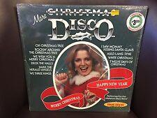 More Christmas Disco In Shrink VG+ LP Phoenix 1980
