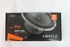 "Hertz Mille Pro MPX165.3 6.5"" 200W 2 Way Speakers for Cars and Harley Bikes New"