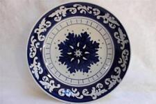 222 Fifth Majorca Round Pasta Serving Bowl - Blue/White