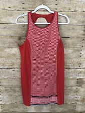 Tropical Escapes Women's Anchors Away Swimsuit Dress Cover Up Red SZ 16