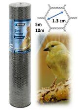 Galvanised Bird Netting Aviary Chicken Wire Animal Pen Fine Mesh Garden Fencing