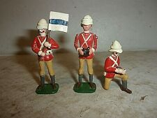 British Bulldog Series - Group of (3) Toy Soldiers