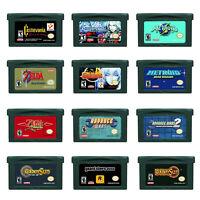 Grand Theft Auto Advance Castlevania...GBA Game Boy Advance Cartridge US English