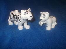LEGO DUPLO VILLE TIGER 1 X TIGER GROSS WEISS BABY KIND NEUES MODELL AUS 6157