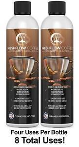 8X Use Descaling Solution for Breville Espresso Machine Descaler Coffee descale