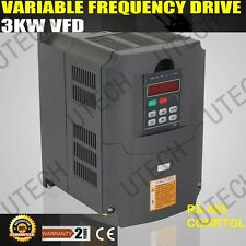 NEW VARIABLE FREQUENCY DRIVE VFD INVERTER 3KW 220V 4HP 13A FREE SHIPPING