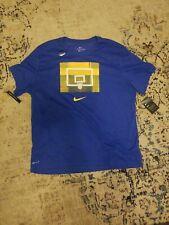 NWT Men's Blue Nike Basketball Backboard Tee T-Shirt Size 3XL-Tall