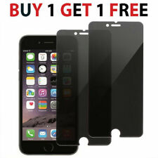 2X For iPhone 5 6 7 8 plus Anti Spy Tempered Glass privacy Screen Protector Film