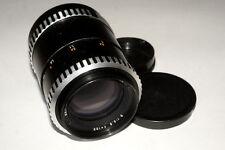 Carl Zeiss Jena Sonnar lens 3.5/135 mm Zebra M42 mount branded aus Jena