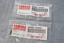 OEM Yamaha MANY MODELS (in listing) Oil Pump Line Clip 90468-02025 NOS 2PC/PK